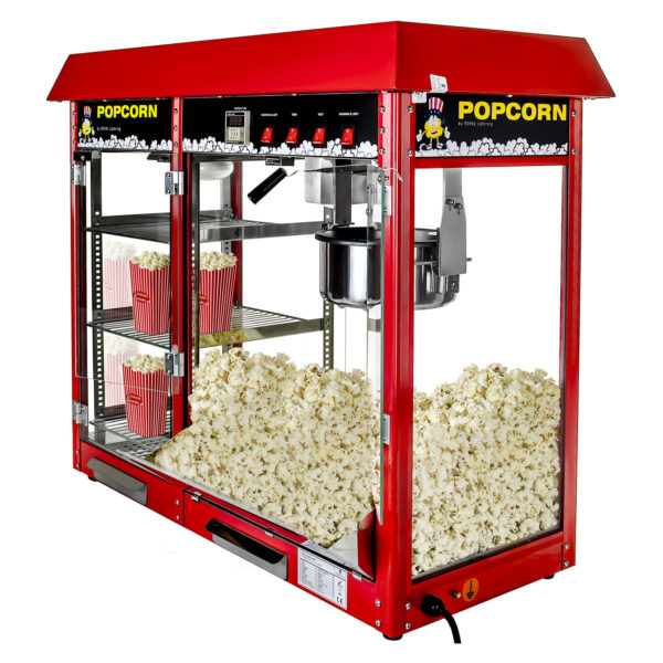Stroj na popcorn 1700w XXL RCPC 16E 2