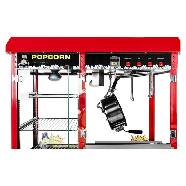 Stroj na popcorn 1700w XXL RCPC 16E 3