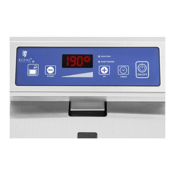 Indukčná fritéza - 2 x 10 L (1343) - regulácia teploty
