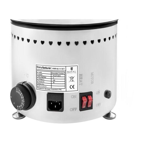 Čokoládová fontána - 4 patra - 6 kg RCCF-230W - 7