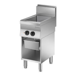 Bartscher Multi gril na pečení 650 - Š 400mm - vč. odkapávací nádoby 115155 - 1 (gril na pečení)