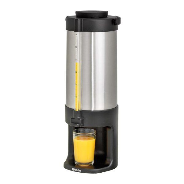 Bartscher izolovaný zásobník na nápoje - 3 litry s dvojitou stěnou - chromniklová ocel 150982 - 1
