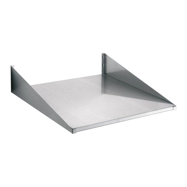 Bartscher nástěnný regál - 600x600mm - chromniklová ocel 174600 - 1
