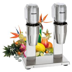 Bartscher napěňovač mléka - Drink Mixer - dvojitý - 700ml 135102 - 1