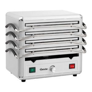 Bartscher ohřívač - s 5 varnými deskami z hliníku 120803 - 1