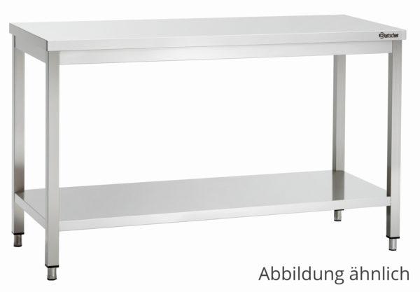 Bartscher pracovní stůl 600 - Š 1000mm - nastavitelné nohy 307106 - 1