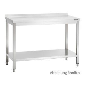 Bartscher pracovní stůl 600 - Š 1000mm - s ohraničením 308106 - 1