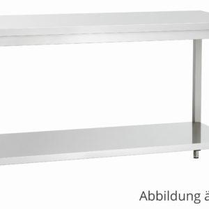Bartscher pracovní stůl 600 - Š 1200mm - nastavitelné nohy 307126 - 1