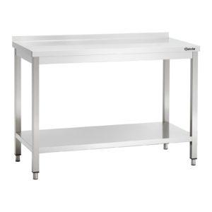 Bartscher pracovní stůl 600 - Š 1200mm - s ohraničením 308126 - 1