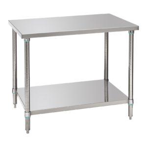 Bartscher pracovní stůl 700 - Š 1000mm - 1 variabilní plocha 601710 - 1