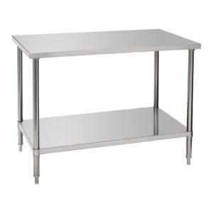 Bartscher pracovní stůl 700 - Š 1200mm - 1 variabilní plocha 601712 - 1