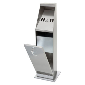 Bartscher stojanový popelník - stříbrný 860002 - 1