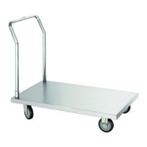 Bartscher transportní vozík - plošinový vozík - chromniklová ocel 300142 - 1