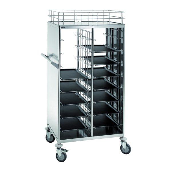 Bartscher transportní vozík pro 2x 8 podtáců 300083 - 1