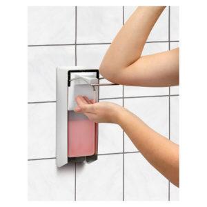 Bartscher zásobník na tekuté mýdlo - 1 Litrů - obsluha loktem 850008 - 1