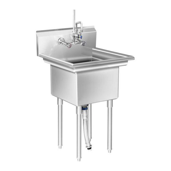 Mycí stůl - 1 dřez - 58 x 60 x 110 cm RCHS-7 - 1 (mycí stul)