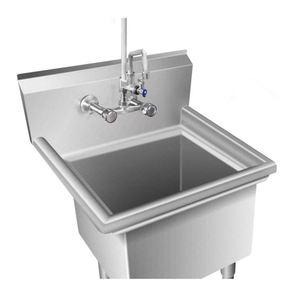 Mycí stůl - 1 dřez - 58 x 60 x 110 cm RCHS-7 2