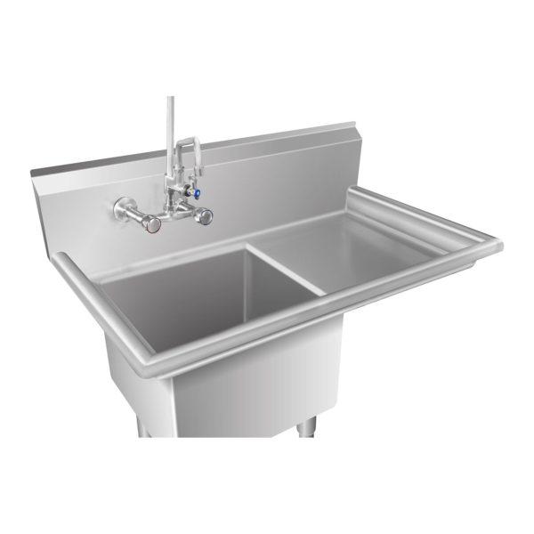 Mycí stůl - 1 dřez a plocha na odkapávání vpravo RCHS-6 - 2