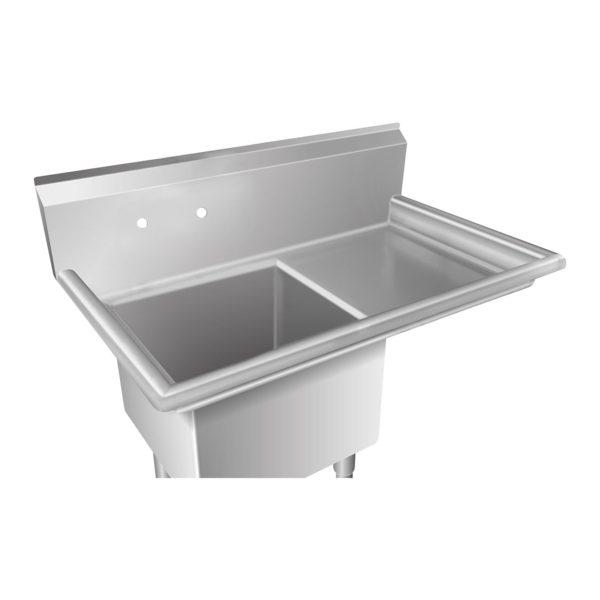 Mycí stůl - 1 dřez a plocha na odkapávání vpravo RCHS-6 - 3