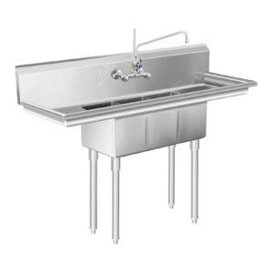 Mycí stůl - 3 dřezy - 50 x 150 x 110 cm RCHS-9 - 1 (mycí stul)