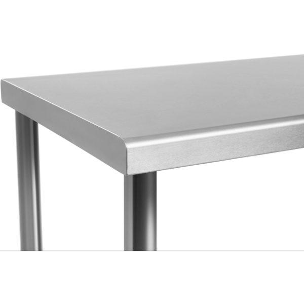 Nerezový pracovní stůl 100 x 70 cm RCAT-10070 - 3