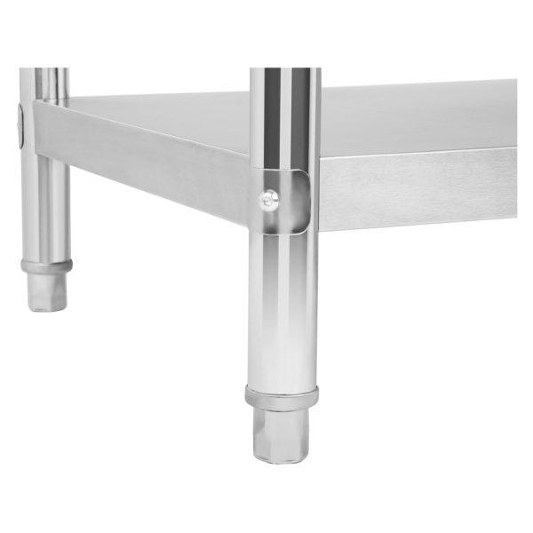 Nerezový pracovní stůl 100 x 70 cm RCAT-10070 - 6