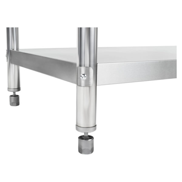 Nerezový pracovní stůl - 120 x 60 cm - s lemy RCAT-12060-S - 7Nerezový pracovní stůl - 120 x 60 cm - s lemy RCAT-12060-S - 7