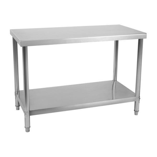 Nerezový pracovní stůl 120 x 70 cm RCAT-12070 - 2