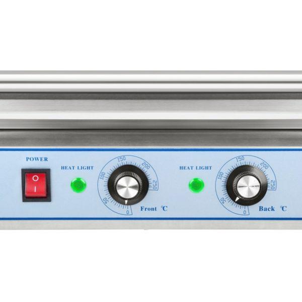 Opékač párků - 11 válců - ušlechtilá ocel RCHG-11E - 8 (termostat)