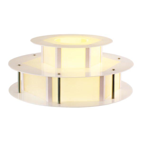 Osvětlený stůl na fontánu na čokoládu - 100 cm RCCF-BASE LED - 5