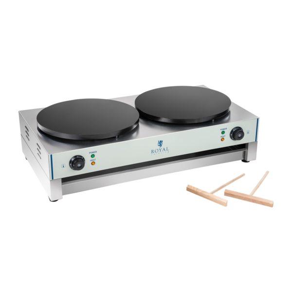Palačinkovač - 40 cm - 2 x 3000 wattů - 2.0. RCEC-6000-E - 2