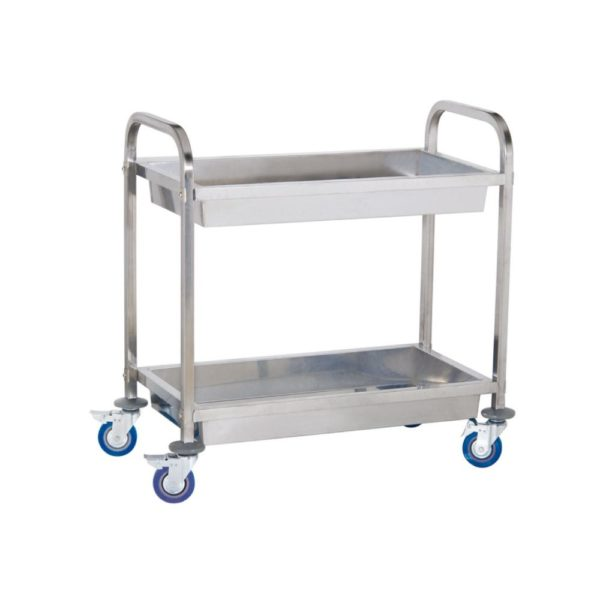 Servírovací vozík - 2 vany - 1 (servírovací vozík)