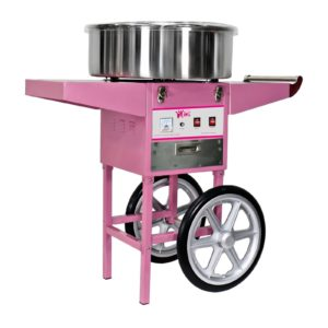 Stroj na cukrovou vatu s vozíkem - 52 cm RCZC-1200-W - 1
