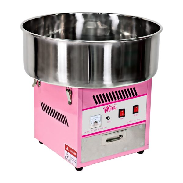Stroj na cukrovou vatu s vozíkem - 52 cm RCZC-1200-W - 2
