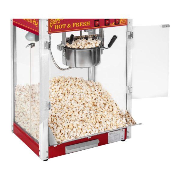 Stroj na popcorn červený - americký design RCPS-16.3 - 4