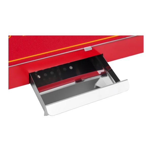 Stroj na popcorn červený - americký design RCPS-16.3 - 6