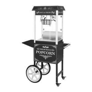 Stroj na popcorn s vozíkem - černý RCPW.16.2 - 1 (stroj na popcorn)