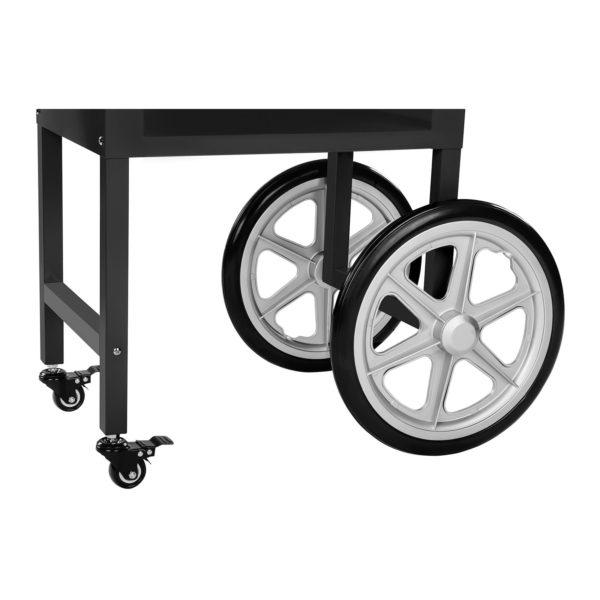 Stroj na popcorn s vozíkem - černý RCPW.16.2 - 11