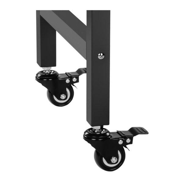 Stroj na popcorn s vozíkem - černý RCPW.16.2 - 12