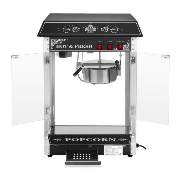 Stroj na popcorn s vozíkem - černý RCPW.16.2 - 4