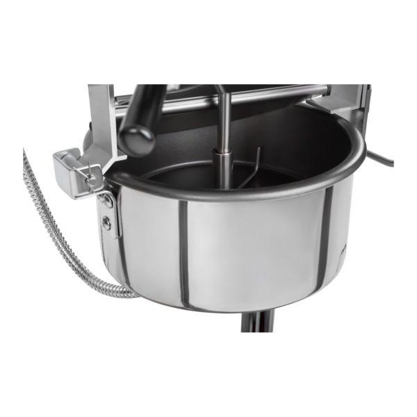 Stroj na popcorn s vozíkem - černý RCPW.16.2 - 5
