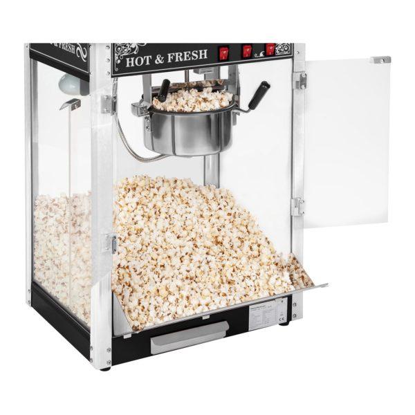 Stroj na popcorn s vozíkem - černý RCPW.16.2 - 9