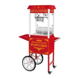 Stroj na popcorn s vozíkem - červený RCPW.16.2 - 1 (stroj na popcorn)