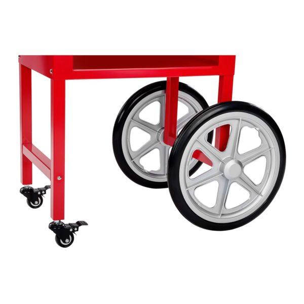Stroj na popcorn s vozíkem - červený RCPW.16.2 - 11