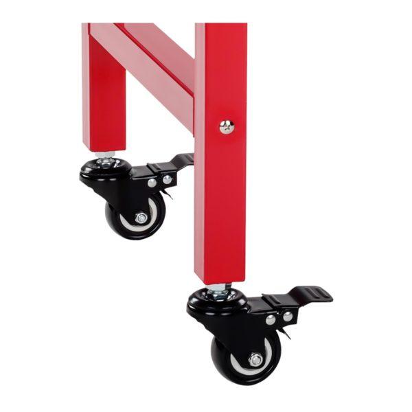 Stroj na popcorn s vozíkem - červený RCPW.16.2 - 12