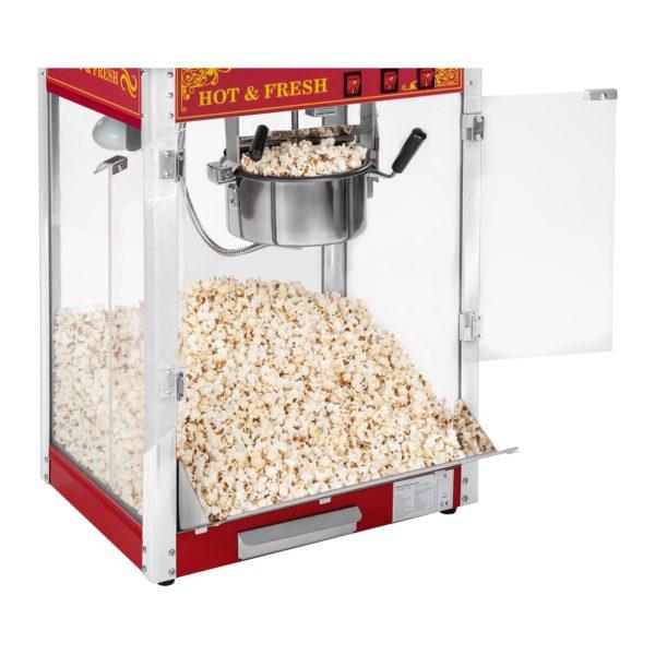 Stroj na popcorn s vozíkem - červený RCPW.16.2 - 9