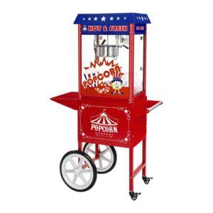 Stroj na popcorn - vč. vozíku - USA design RCPW-16.1 - 1 (stroj na popcorn)