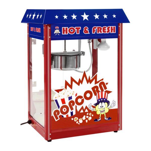 Stroj na popcorn - vč. vozíku - USA design RCPW-16.1 - 2