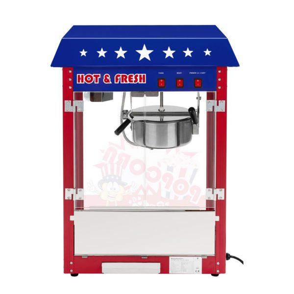 Stroj na popcorn - vč. vozíku - USA design RCPW-16.1 - 3