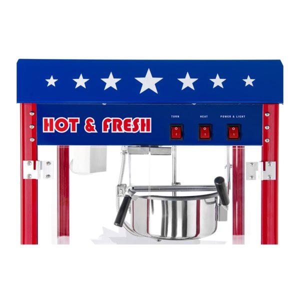 Stroj na popcorn - vč. vozíku - USA design RCPW-16.1 - 7